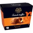 Julchoklad Franska Apelsintryfflar 200Gram