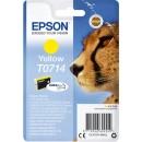 Bläckpatron Epson T0714 Gul