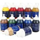 Akrylfärg Pigment Mix 500ml 12st/fpk