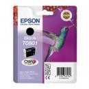 Bläckpatron Epson T0801 Svart