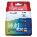 Bläckpatron Canon CLI-526 CMY 3-Färg