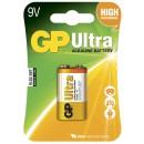 Batteri GP Ultra Alkaline V9 6LF22