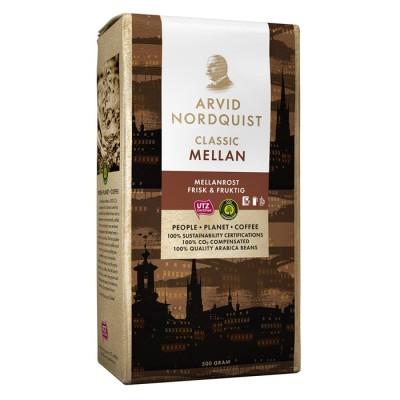 Kaffe Arvid Nordquist Classic Mellan 12x500g